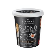 SISINNI Buono Κρέμα με Φουντούκια & Γάλα Χωρίς Γλουτένη 400gr
