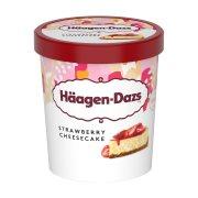 HAAGEN-DAZS Παγωτό Strawberry Cheesecake 400gr (460ml)