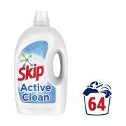 SKIP Απορρυπαντικό Πλυντηρίου Ρούχων Υγρό Active Clean 64 πλύσεις