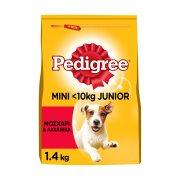 PEDIGREE Vital Ξηρά Τροφή Σκύλου Mini Adult Μικρού μεγέθους Μοσχάρι & Λαχανικά 1,4Kg