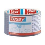 TESA Basic Ταινία Υφασμάτινη Γκρι 10mx50mm