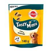 PEDIGREE Tasty Minis Σνακ Σκύλου Cheese&Beef Nibbles 140gr