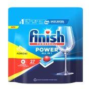 FINISH All In 1 Max Απορρυπαντικό Πλυντηρίου Πιάτων Ταμπλέτες Λεμόνι 27τεμ 396gr