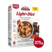 MILLHOUSE Light & Diet Δημητριακά με Σοκολάτα & Φράουλα 375gr