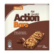 BONORA Action Μπάρες Δημητριακών με Σοκολάτα Γάλακτος 6x23gr