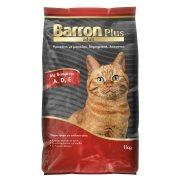 BARRON Plus Adult Ξηρά Τροφή Γάτας με Μοσχάρι Δημητριακά Λαχανικά 1kg