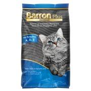 BARRON Plus Ξηρά Τροφή για Στειρωμένες Γάτες με Κοτόπουλο Δημητριακά Λαχανικά 1kg