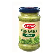 BARILLA Έτοιμη Σάλτσα Ζυμαρικών Pesto Basilico Vegan Χωρίς γλουτένη 190gr