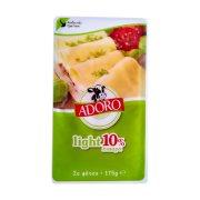 Τυρί ADORO Ημίσκληρο Light 10% σε φέτες 175gr