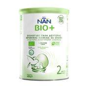 NESTLE Nan Bio 2 Γάλα 2ης Βρεφικής Ηλικίας +6 Μηνών σε σκόνη Βιολογικό 400gr
