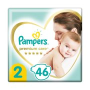 PAMPERS Premium Care Πάνες Νο2 4-8kg 46τεμ