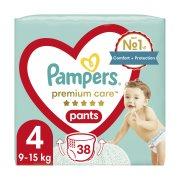 PAMPERS Premium Care Pants Πάνες Βρακάκι Νο4 9-15kg 38τεμ
