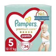 PAMPERS Premium Care Pants Πάνες Βρακάκι Νο5 12-17kg 34τεμ