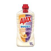 AJAX Boost Καθαριστικό Υγρό Γενικής Χρήσης Σαπούνι Μασσαλίας & Λεβάντα Vegan 1lt