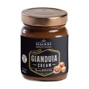 SISINNI Gianduia Κρέμα Κακάο με Στέβια Χωρίς γλουτένη Χωρίς ζάχαρη 380gr