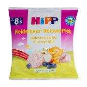 HIPP Ρυζογκοφρετάκια Μήλου & Βατόμουρου Βιολογικά 30gr