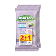 BABYCARE Μωρομάντηλα Calming Pure Water 2x12τεμ +1 Δώρο