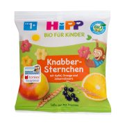 HIPP Σνακ Αστεράκια με Φρούτα Βιολογικά 30gr