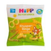 HIPP Σνακ Τραγανά Τυροδαχτυλίδια Βιολογικά 25gr