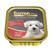 BARRON Plus Adult Υγρή Τροφή Σκύλου με Μοσχάρι Κοτόπουλο Πατέ 300gr