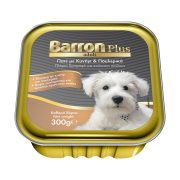 BARRON Plus Adult Υγρή Τροφή Σκύλου με Κυνήγι Πουλερικά Πατέ 300gr