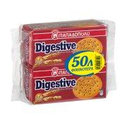 ΠΑΠΑΔΟΠΟΥΛΟΥ Digestive Μπισκότα 2x250gr