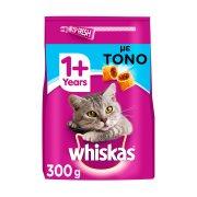WHISKAS Ξηρά Τροφή Γάτας 1+ετών Κροκέτες Γεμιστές με Τόνο 300gr