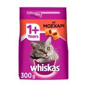 WHISKAS Ξηρά Τροφή Γάτας 1+ετών Κροκέτες Γεμιστές με Μοσχάρι 300gr