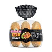 ΚΑΡΑΜΟΛΕΓΚΟΣ Ψωμάκια Σάντουιτς 5τεμ +1 Δώρο