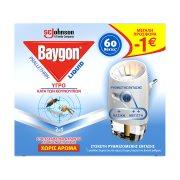 BAYGON Εντομοαπωθητικό Υγρό για 60 Νύχτες Σετ 36ml