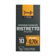 DIMELLO Καφές Espresso Ristretto σε Κάψουλες συμβατές με μηχανή Nespresso 10x5,6gr