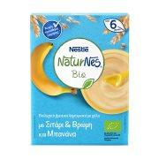 NESTLE Naturnes Κρέμα με Δημητριακά Βρώμης Μπανάνα Βιολογικό 200gr