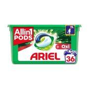 ARIEL Allin1 Pods Απορρυπαντικό Πλυντηρίου Ρούχων Oxi Effect 36 κάψουλες