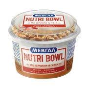 ΜΕΒΓΑΛ Nutri Bowl Επιδόρπιο Γιαουρτιού με Βρώμη & Μήλο & Κανέλα & Καρύδια 158gr