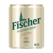 FISCHER Μπίρα Pils 4x500ml