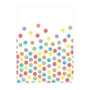 DECORATA Τραπεζομάντηλο Πλαστικό με σχέδιο Dots 1,2x1,8m