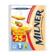 Τυρί MILNER Ημίσκληρο σε φέτες Ολλανδίας 300gr
