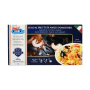 Μείγμα Θαλασσινών ARBI με Γαρίδες & Σάλτσα 450gr