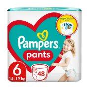 PAMPERS Pants Πάνες Βρακάκι Νο6 15+kg 48τεμ