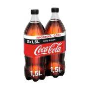 COCA COLA Zero Αναψυκτικό Χωρίς ζάχαρη 2x1,5lt
