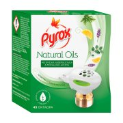 PYROX Natural Oil Εντομαπωθητικό Υγρό για 45 Νύχτες Σετ
