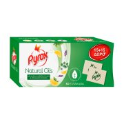 PYROX Natural Oil Εντομοαπωθητικές Ταμπλέτες 15τεμ +15τεμ Δώρο