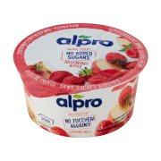 ALPRO Επιδόρπιο Σόγιας με Ράσμπερι Μήλο Χωρίς γλουτένη 135gr