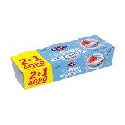 ΦΑΓΕ BeFree Επιδόρπιο Γιαουρτιού Φράουλα 0% Χωρίς λακτόζη 2x150gr  +1 Δώρο