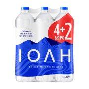 ΙΟΛΗ Νερό Φυσικό Μεταλλικό 4x1,5lt +2 Δώρο