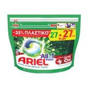 ARIEL Allin1 Pods Απορρυπαντικό Πλυντηρίου Ρούχων Oxi Effect 27 κάψουλες +1 Δώρο