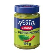 BARILLA Έτοιμη Σάλτσα Ζυμαρικών Pesto Basilico & Peperoncino Χωρίς γλουτένη 195gr