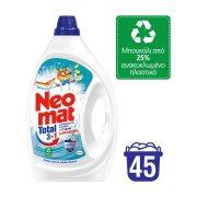 NEOMAT Απορρυπαντικό Πλυντηρίου Ρούχων Υγρό Total 3+1 Hygiene 45 πλύσεις