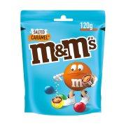 M&M'S Κουφετάκια Σοκολάτας Salted Caramel 120gr