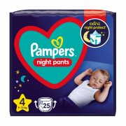 PAMPERS Night Pants Νo4 9-15kg 25τεμ